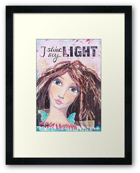 I shine my light von Stefanie Marquetant