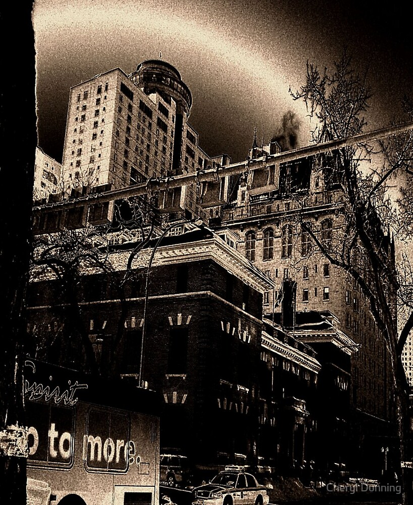 Haunted Hotel by Cheryl Dunning
