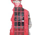 Sherlock- Telephone Box White by sophielamb
