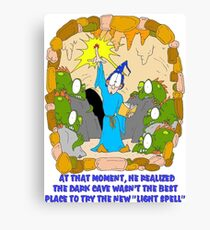 Silly Spell Canvas Print