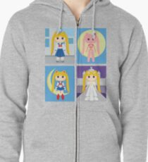 Sailor Moon Zipped Hoodie