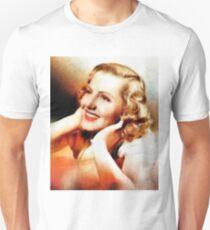 Jean Arthur, Vintage Hollywood Actress Unisex T-Shirt