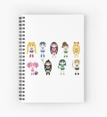 Sailor Senshi Spiral Notebook