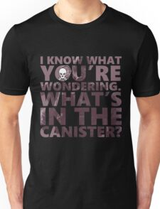 Smoke - What's in the Canister - Rainbow Six Siege Unisex T-Shirt