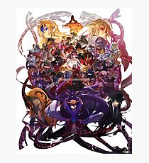 Blazblue All Characters Photographic Print