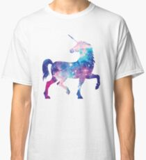 Unicorn. Elegant Space Unicorn Classic T-Shirt