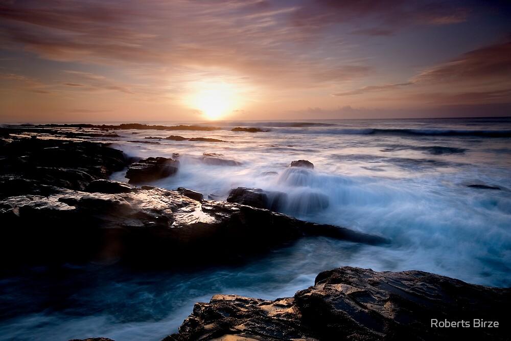 nuages de la mer (vi) by Roberts Birze
