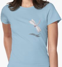 Sketch of a Dragonfly Women's Fitted T-Shirt