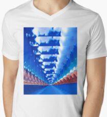 Infinity Landscape Men's V-Neck T-Shirt