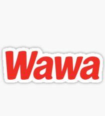 WAWA Logo STICKER  Sticker