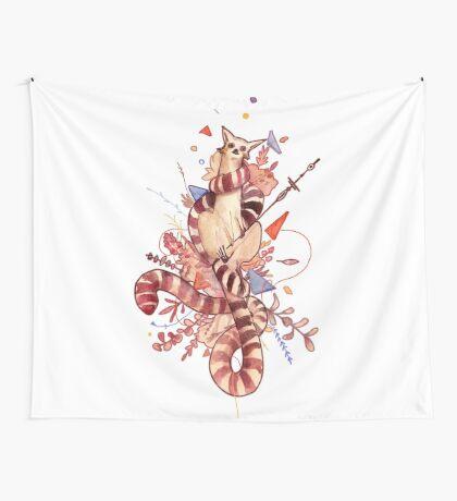 El príncipe lemur Wall Tapestry