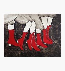 Red Boots Photographic Print