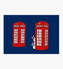 London Telephone Box and A Bunny Photographic Print