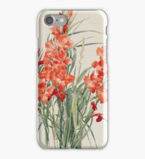 Charles Demuth - Red Gladioli1928 iPhone Case/Skin