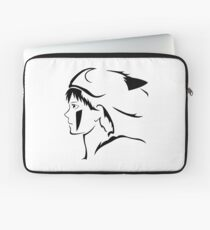 Black Princess Vector Laptop Sleeve