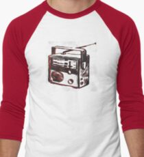 classic handheld Radio Men's Baseball ¾ T-Shirt