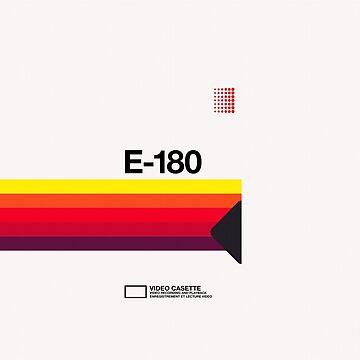 VHS E-180 by electrixdev