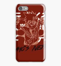 "Sakura ""Who's next"" Street Fighter iPhone Case/Skin"