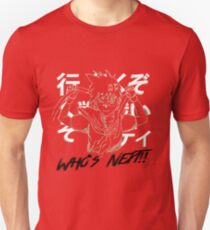 "Sakura ""Who's next"" Street Fighter Unisex T-Shirt"