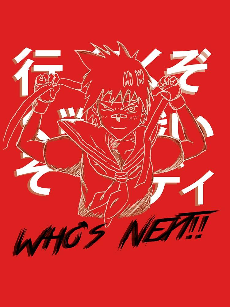 "Sakura ""¿Quién sigue?"" Street Fighter de PatsFanToro"
