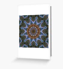 Cosmic Star Dust Blossom Greeting Card