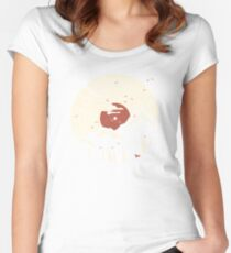 MTN LP... Women's Fitted Scoop T-Shirt