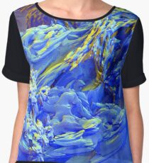 Landscape Abstract Chiffon Top