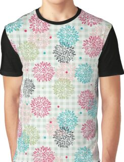 Abstract Floral Pattern Graphic T-Shirt
