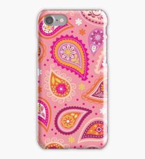 Colorful summer paisleys iPhone Case/Skin