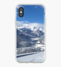 Austrian Snowy Mountains iPhone Case