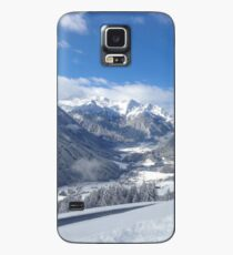 Austrian Snowy Mountains Case/Skin for Samsung Galaxy
