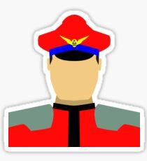 Dictator Vector Sticker