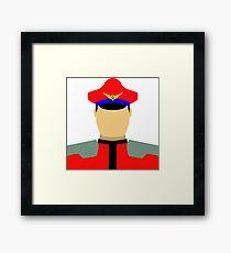 Dictator Vector Framed Print