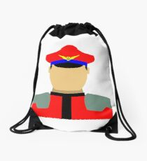 Dictator Vector Drawstring Bag