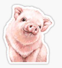 Pink Piglet Sticker