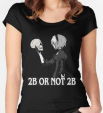 2B or not 2B Women's Fitted Scoop T-Shirt