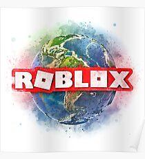 Roblox World –watercolor/sketch Poster