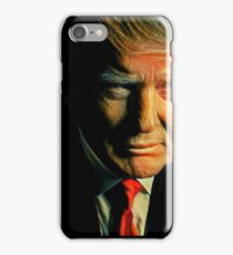 Donald Trump Staring at You  iPhone Case/Skin