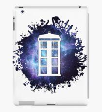 universe TARDIS splat  iPad Case/Skin