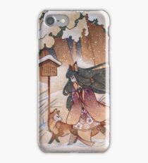 Blustery iPhone Case/Skin