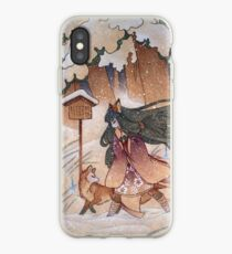 Blustery iPhone Case