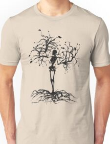 skeleton tree Unisex T-Shirt