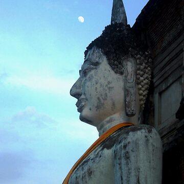Buddha Moon  by men4breakfast