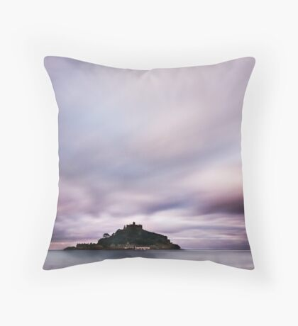 Seamount (light) Throw Pillow