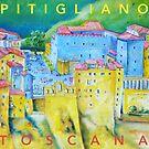 Pitigliano, Toscana von Peter Petri