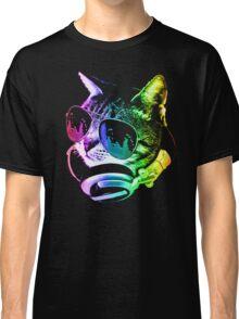 Rainbow Music Cat Classic T-Shirt