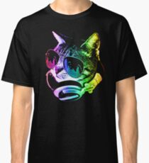 Rainbow Music Cat Classic T-Shirt