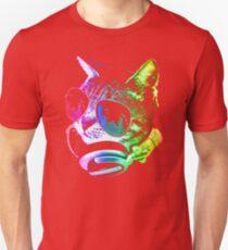 Rainbow Music Cat Unisex T-Shirt