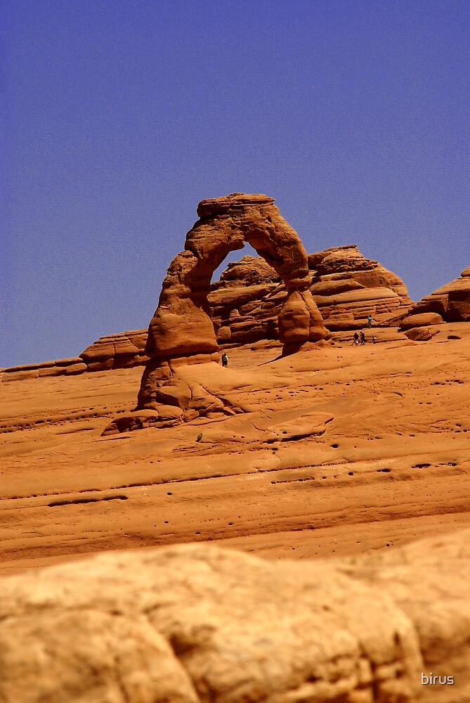 delicate arch by birus