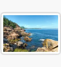 Otter Rocks Coastline Sticker